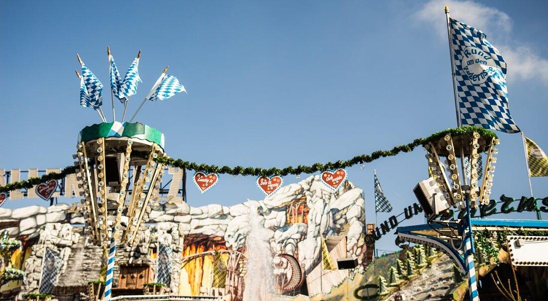 Tegernsee Fahrgeschäfte Oktoberfest