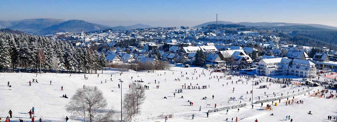Winterlanschaft in Winterberg, Sauerland