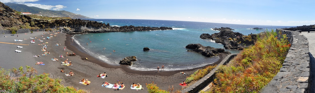 Strand auf La Palma, Kanarische Inseln, Spanien